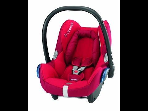 Maxi Cosi Car seat cover - how to remove ToysRus