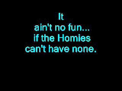 Ain´t No Fun (Lyrics By The MAYA Mystic)