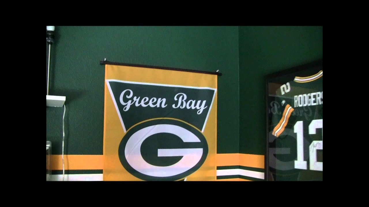 Green Bay Packers Bedroom   YouTube