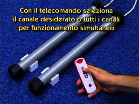 Motore Per Tapparella Con Radiocomando Youtube