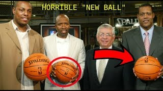 "The ""NEW Ball"" the NBA WANTS YOU TO FORGET!"