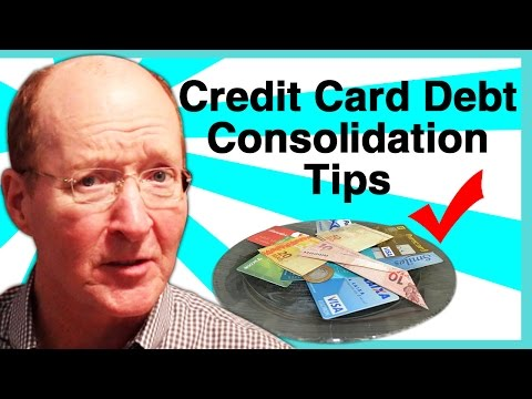 Credit Card Debt Consolidation Tips Advice