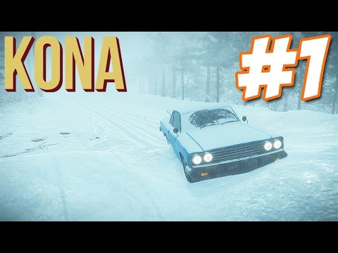 A SURVIVAL SNOW ADVENTURE | Let's Play Kona #1 | Survival Horror Gameplay
