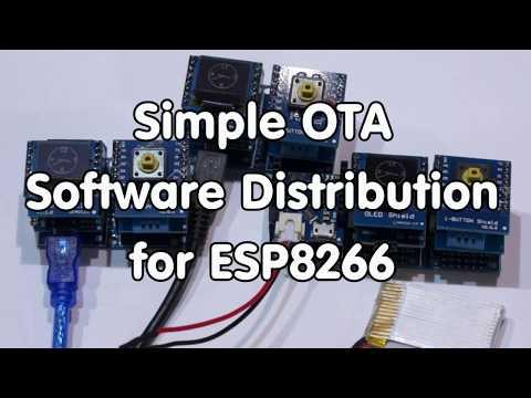 #157 Simple OTA Software Distribution for ESP8266 (IOTappStory.com)