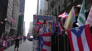 Puerto Rican Day Parade~NYC~2015~Taino Towers Float Sizzles with some Salsa Music~NYCParadelife