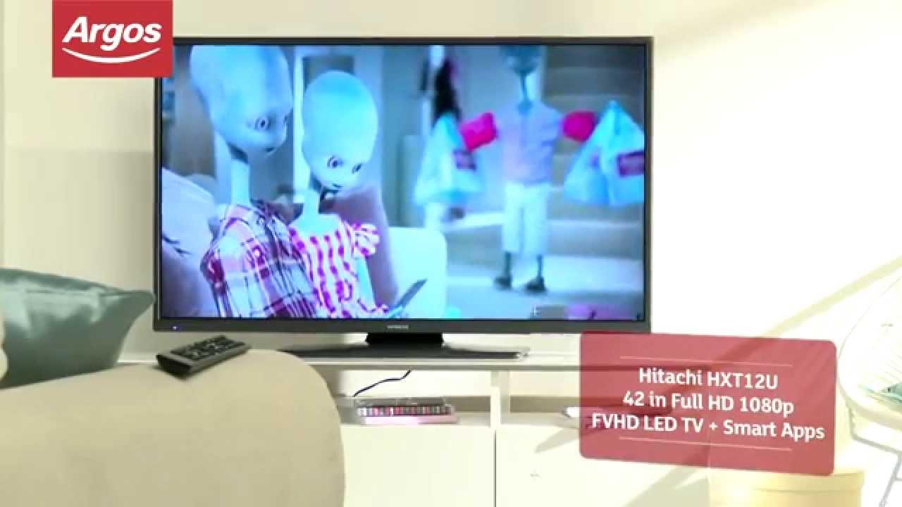Top Reviewed Tvs At Argos Hitachi Hxt12u 42 In Full Hd 1080p Fvhd