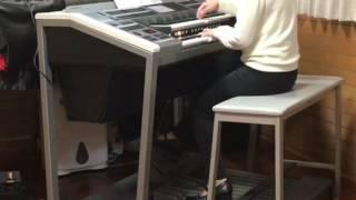 月刊エレクトーン2017年2月号 桜ノ雨 absorb 作詞し作曲/森 晴義 エレ...