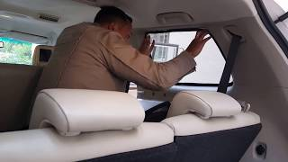 How to install Magnetic Zipper Sun Shades Car Curtains?