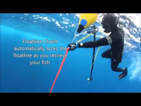 Float Line Clutch Reel In Fish Works With Single Or