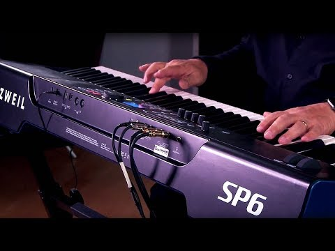 Kurzweil SP6 Stage Piano - All Playing, No Talking!