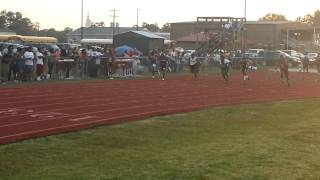 Gregory Leonard Wins 100m Hattiesburg Track