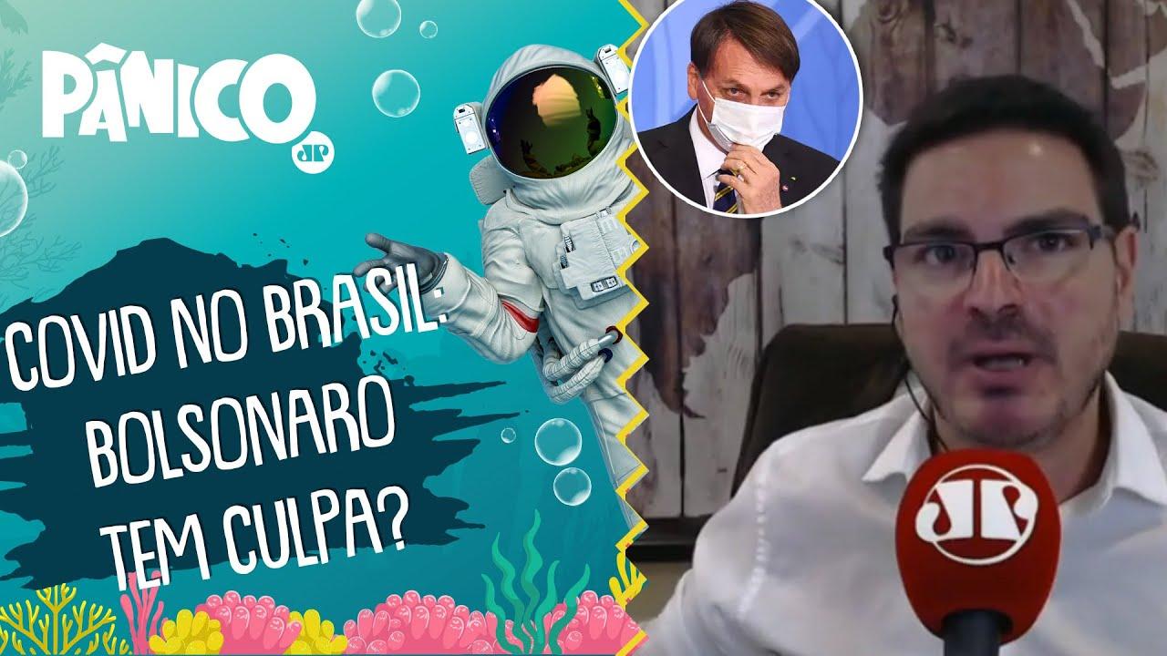 Bolsonaro é CULPADO pelos 100 MIL MORTOS? Constantino responde