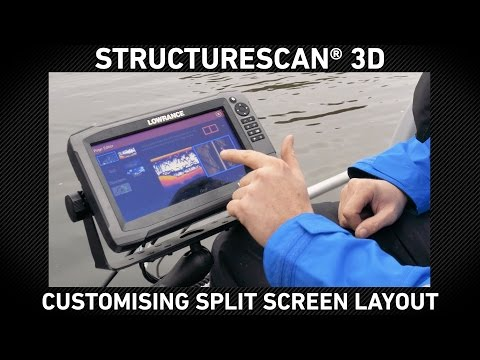 StructureScan 3D Setting Up Custom Split Screens