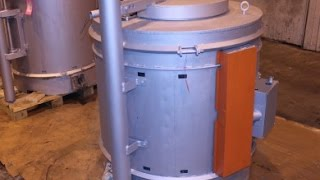 Used Recco Electric Crucible Furnace No 3998