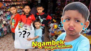 Adik Cemberut Pingin Beli Mainan Baru | Drama Anak Lucu Lagi Ngambek
