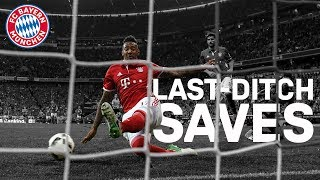 Best last-ditch saves | FC Bayern