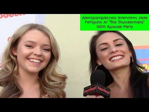 School Of Rock's Jade Pettyjohn Interview - Alexisjoyvipaccess - The Thundermans 100th Episode