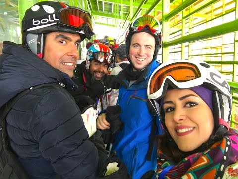 Travel Iran: Skiing in Dizin Tehran + information