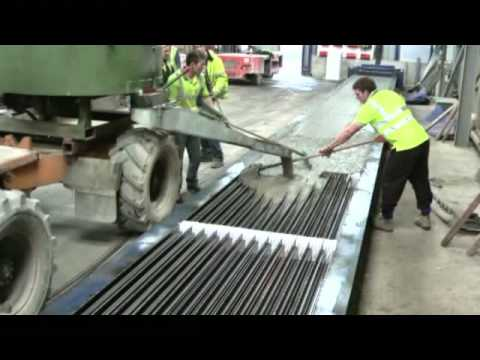 Prestressed Tee-Beam bed .mp4