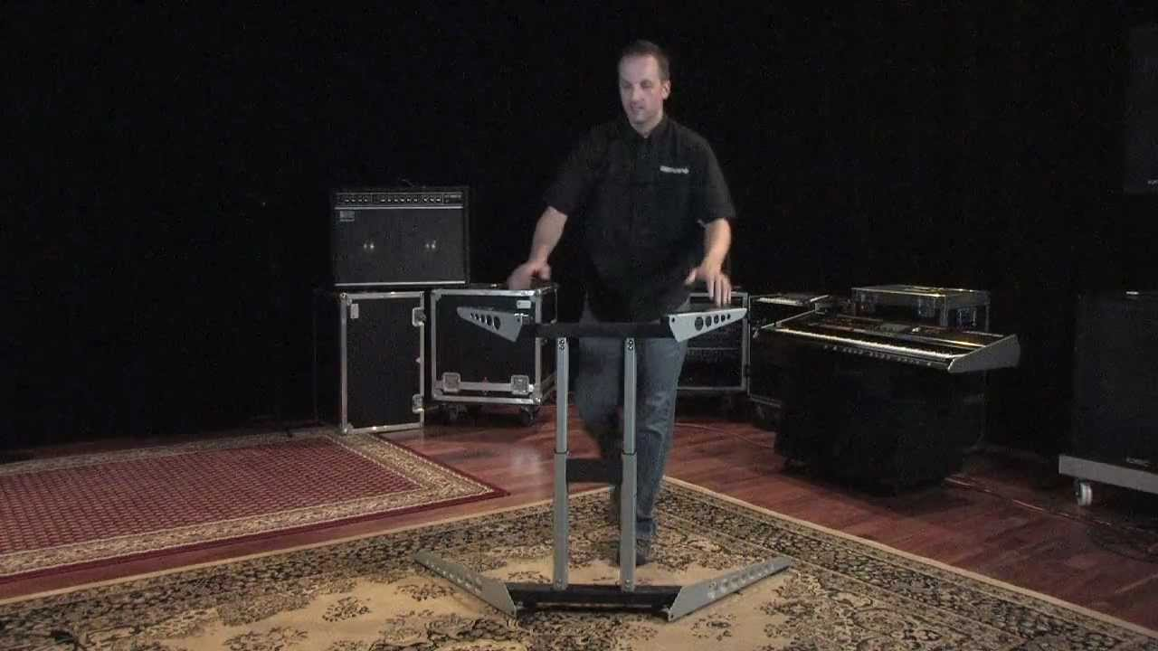 roland jp 80 ks j8 keyboard stand youtube. Black Bedroom Furniture Sets. Home Design Ideas