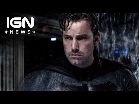 Batman Standalone Film Starring and Directed by Ben Affleck Confirmed - IGN News