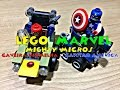 LEGO MARVEL MIGHTY MICROS CAPTAIN AMERICA VS RED SKULL