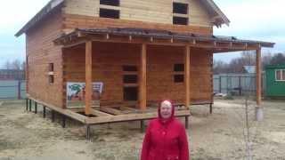 Видео-отзыв о строительстве дома из профилированного бруса(, 2014-10-21T08:50:10.000Z)