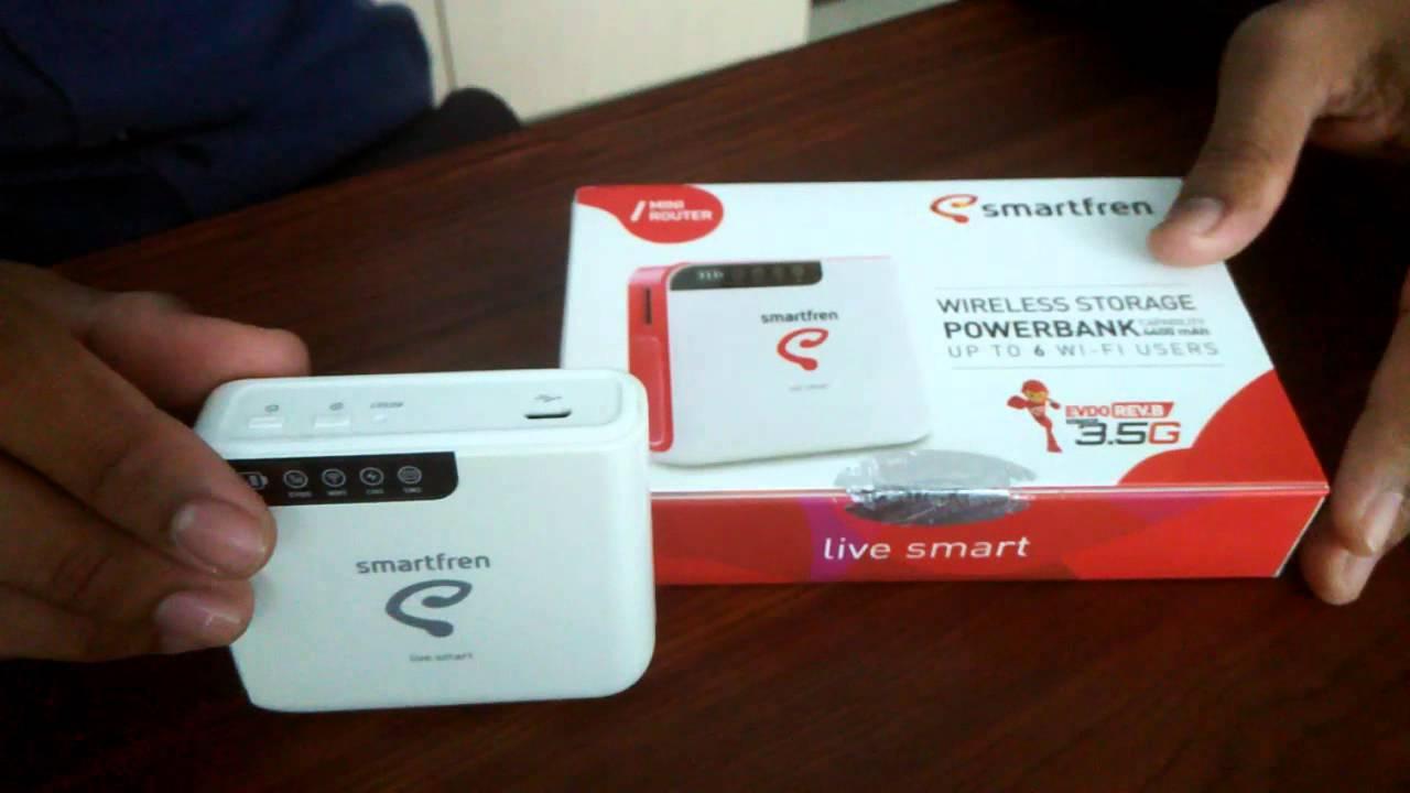 Unboxing Modem Wifi Smartfren Connex M1 Indonesia