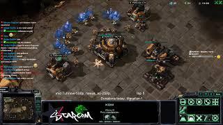 StarCraft 2 | BratOK | 2x2 BratOK + DIMAGA! Q(._.Q)