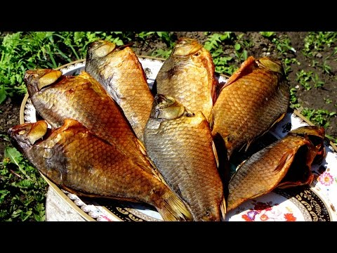 Рыба холодного копчения в домашних условиях, караси