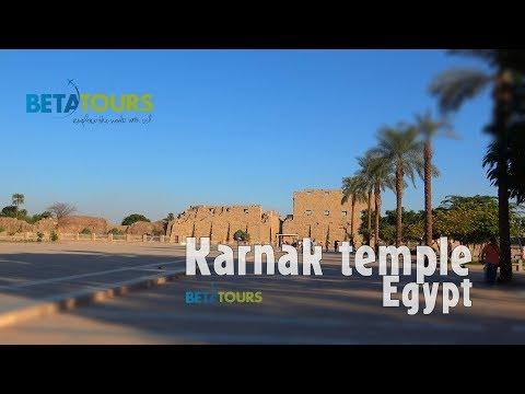 Karnak temple, Egypt 4K travel guide bluemaxbg.com