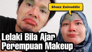Make Up Challenge Sambil House Tour Rumah Shazz Zainuddin