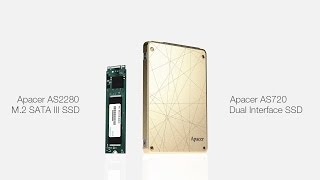 apacer as720 dual interface ssd as2280 m 2 ssd the brand new ssds storage solution