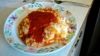 Lasagna for Garfield