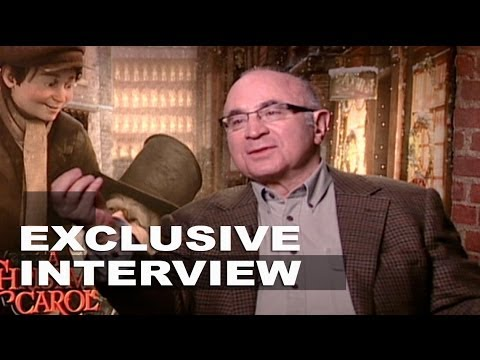 A Christmas Carol: Bob Hoskins Exclusive Interview Part 1 of 2