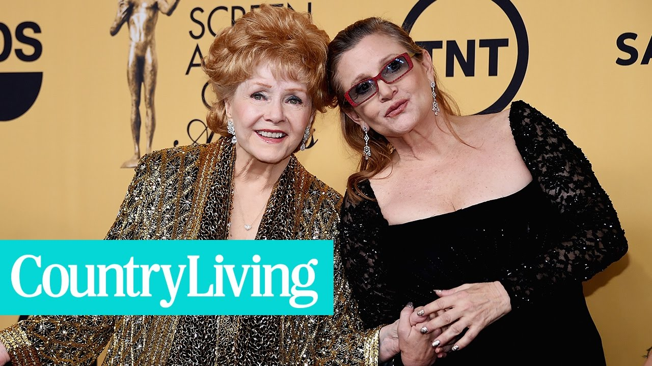 Debbie Reynolds & Carrie Fisher Through the Years | Country Living
