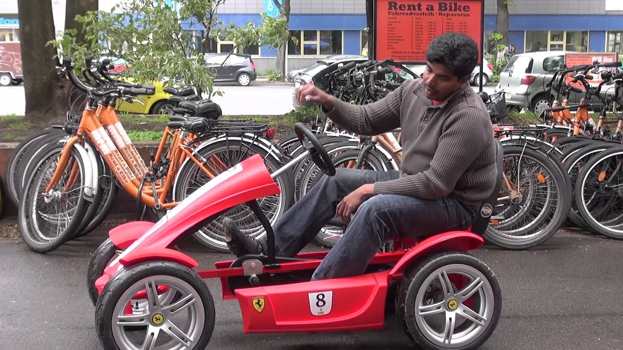 Berg Toys Ferrari Fxx Mrm Racing Project S.M.Rajendran