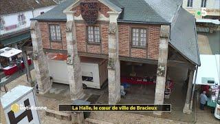À Bracieux, le marché se tient dans un monument historique - La Quotidienne
