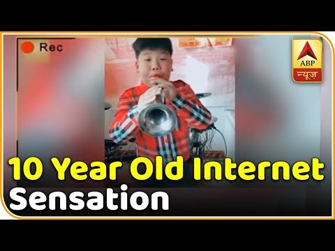 Wang's Musical Laughter Has Made Him A Social Media Star | ABP News