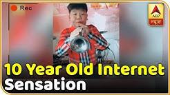 Wang's Musical Laughter Has Made Him A Social Media Star | ABP News
