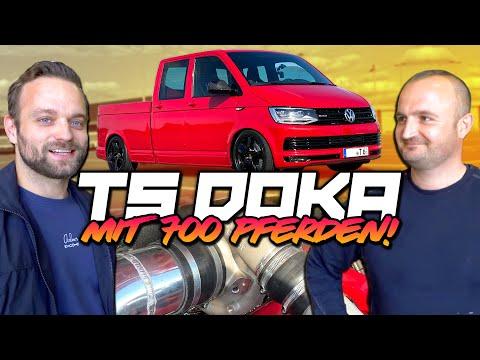 EXTREMER gehts kaum - VW T5 DOKA mit 700 PS R32 Turbo und 4 Motion Antrieb! | Philipp Kaess |