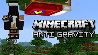 Minecraft: CONTROL GRAVITY, WALK ON WALLS - Starmine Mod Showcase