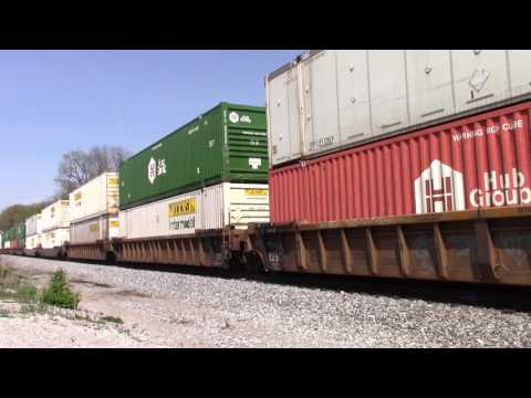 Southbound Norfolk Southern Container Intermodal Freight