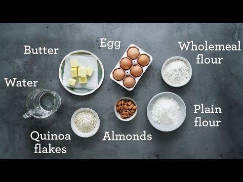 Almond Quinoa Pastry  - Louise Keats, Sweet Nourish