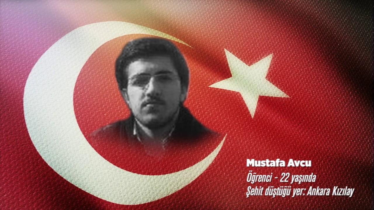 15 Temmuz Şehidi Mustafa Avcu