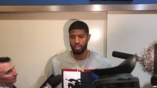Thunder vs. Warriors - Paul George