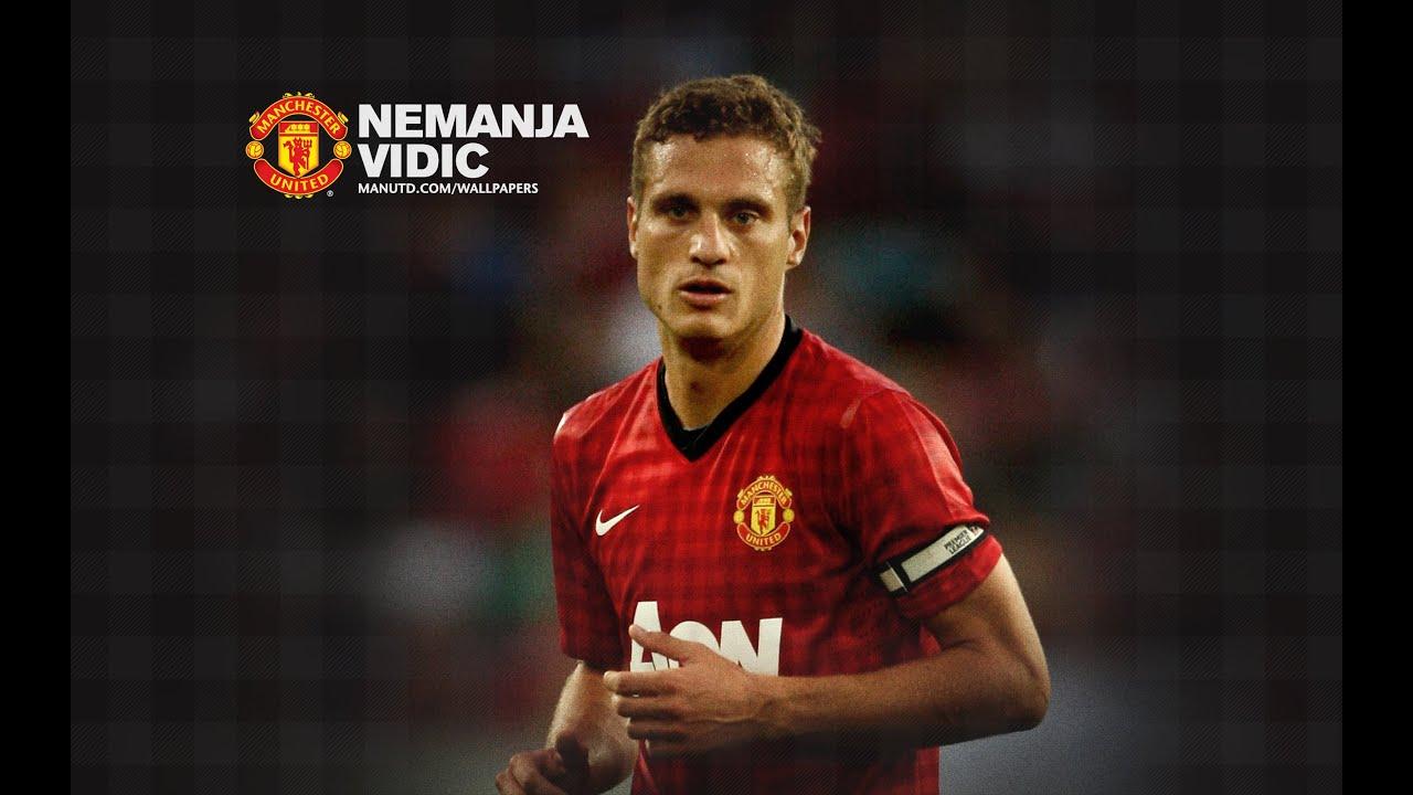 Vidic Manchester united - YouTube