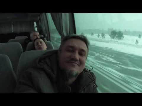 Еду автобусом из Шарыпово в Красноярск