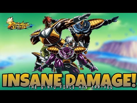 NEW EX GINYU FORCE SHOWCASE | DRAGON BALL LEGENDS