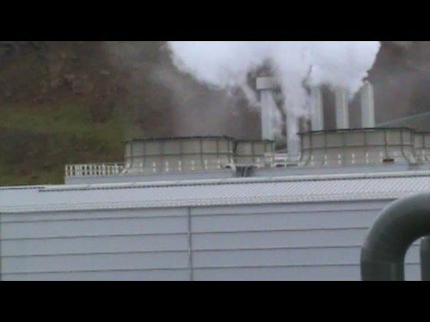 Iceland New Geothermal Power Plant